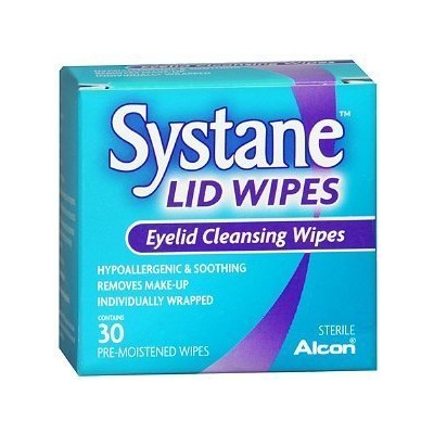 Systane Lid Wipes, Eyelid Cleansing Wipes, 30 count (Pack of 3) by Systane [並行輸入品]