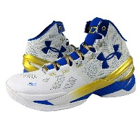 "Under Armour Curry 2 ""Gold Rings""メンズ White/True Royal アンダーアーマー Stephen Curry ステフィン・カリー バッシュ"