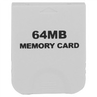 eForBuddy 64MB Memory Card for Nintendo Wii  任天堂 Wii 用64MB メモリーカード ホワイト