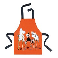 Child's Moomin Apron - Little My & Moomins on Stilts