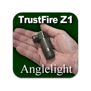 TrustFire Z1 Cree LED 3 Mode Anglelight アングルライト (CR123A)