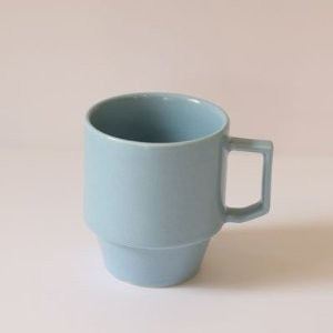 【HASAMI】BLOCK MUG BIG 波佐見焼き (BLUE)