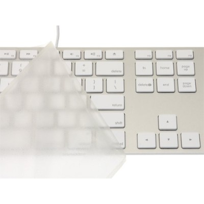 キーボードカバー・Pure Touch Key Protector #101 for Apple Keyboard (テンキー付き-JIS-US) / PTKP101
