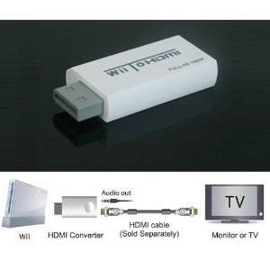 ★最新版★Wii to HDMI Adapter