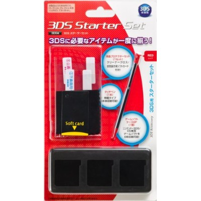 3DS スターターセット レッド