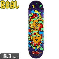 REAL リアル REAL スケボーデッキ WAIR GONZ GUEST DECK8.3 X 31.9 NO107
