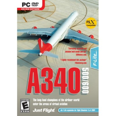 A340-500/600 Expansion for MS Flight Simulator X/2004 (輸入版)