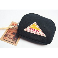 KELTY (ケルティー)  / LIMITED COMPACT POUCH (Black/Gray)