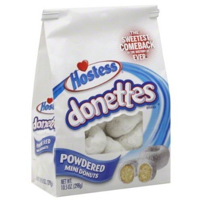 Hostess Donettes, Mini Donuts (Pack of 2) (Powdered) by Hostess [並行輸入品]