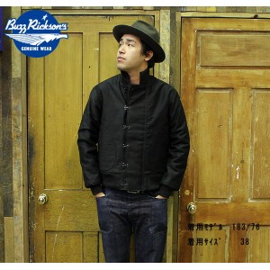 """No.BR13319 BUZZ RICKSON'SバズリクソンズWILLIAM GIBSON COLLECTION""""type BLACK DECK HOOK SLENDER"""""""