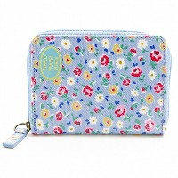 (キャスキッドソン)Cath Kidston Zipped Travel Purse - O/C パスケース Little Flower Buds[並行輸入品]