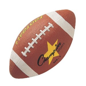 Rubber Sports Ball, For Football, Intermediate Size, Brown (並行輸入品)