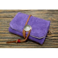 PARLEY×REDWOOD (パーリィー x レッドウッド)SUEDE COIN PURSE (PURPLE)