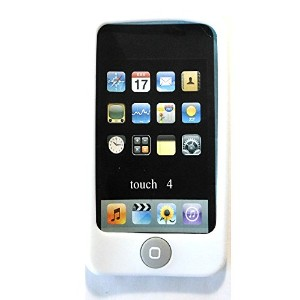 Msfort iPod Touch 4【第4世代】シリコンケース iPod Touch 4 Silicone Case (ホワイト)