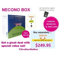 NECONO BOX MONITOR GROUNDとNECONO DIGITAL CAMERAのスペシャルバリューセット!