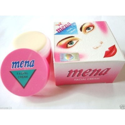 Mena Facial Whitening Cream 6 Units, 3G,.1Oz Each by Mena [並行輸入品]