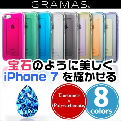 """iPhone7 用 GRAMAS COLORS """"GEMS"""" Hybrid Case CHC466 for iPhone 7 【送料無料】【ポストイン指定商品】 iPhone7 iPhone 7..."""