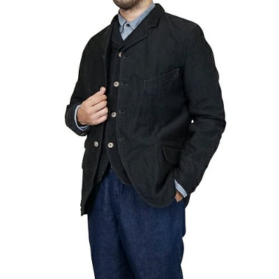 FREEWHEELERS フリーホイーラーズ JACKSON SACK COAT LATE 1800s TAILORED SACK COAT GREAT LAKES GMT.MFG.CO. YARN...