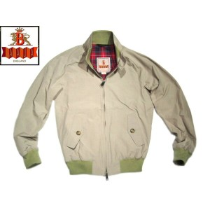 【スーパーSALE期間限定30%OFF!】BARACUTA(バラクータ)/MODERN CLASSIC G9 JACKET/natural
