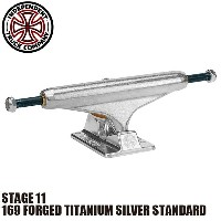 【INDEPENDENT】169 FORGED TITANIUM SILVER STANDARD STAGE 11 SKATEBOARD TRUCK(インディペンデント スケートボード トラック...
