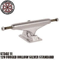 【INDEPENDENT】129 FORGED HOLLOW SILVER STANDARD STAGE 11 SKATEBOARD TRUCK(インディペンデント スケートボード トラック...