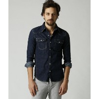 【wjk】4826 ds16g-western shirts (one wash) シャツ