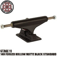 【INDEPENDENT】149 FORGED HOLLOW MATTE BLACK STANDARD STAGE 11 SKATEBOARD TRUCK(インディペンデント スケートボード...