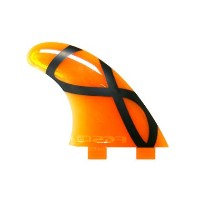 FCS FIN SOFT TRI FIN M5 IFT SOFTFLEX ORANGE FCS エフシーエス ソフト フィン