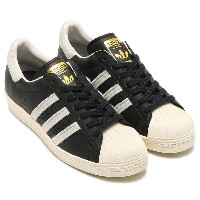adidas Originals SUPERSTAR 80s (Core Black/Running White/Gold Mett) (アディダス オリジナルス スーパースター80s) 【メンズ...