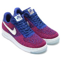 NIKE AF1 ULTRA FLYKNIT LOW PRM(ナイキ AF1 ウルトラ フライニット ロー プレミアム)GYM RED/DEEP ROYAL BLUE-WHITE【メンズ レディース...