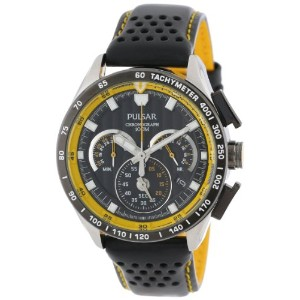 Pulsar パルサー メンズ 腕時計 Men's PU2007 Chronograph Watch