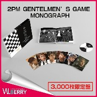【残りわずか!!】【即日発送】2PM GENTELMEN'S GAME MONOGRAPH☆3,000枚限定盤☆MAKING BOOK (150p) + 1 DVD(45min) + PHOTO...