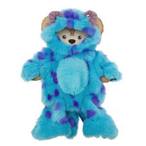 Disney 17インチ ダッフィー モンスターインク サリー 着せ替え Duffy Bear Sulley From Monsters Inc. Clothes Mickey Mouse NEW