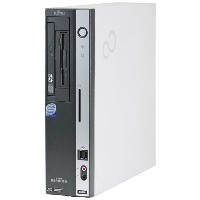 Windows XP Pro(HDDリカバリー領域有)/富士通 ESPRIMO D5270 Core2 Duo 2.40GHz/4GB/160GB/DVD【即日発送】【中古パソコン】【デスクトップ】