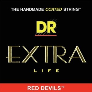 DR エレキギター弦 EXTRA LIFE Red-Devils (10-46) 【国内正規品】