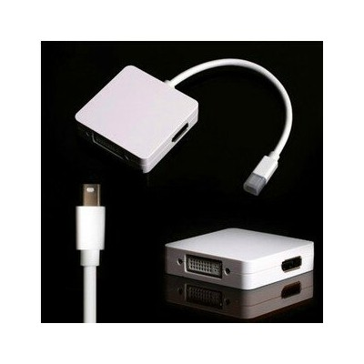 送料無料 Mini DisplayPort/Thunderbolt to HDMI/DVI/DisplayPort変換アダプタ Mini DP-DisplayPort/DVI(24+1)ピン...