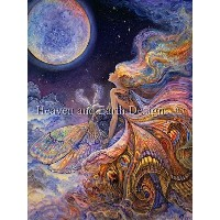 【DM便対応】Heaven And Earth Designs(HAED)クロスステッチ Supersized Fly Me To The Moon チャート Michele Sayetta...