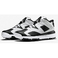 "Air Jordan VI 6 Retro Golf ""Oreo"" メンズ White/Black ジョーダン ゴルフシューズ NIKE GOLF SHOES"
