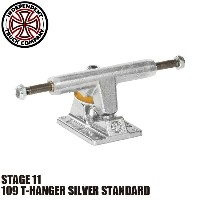 【INDEPENDENT】109 T-HANGER SILVER STANDARD STAGE 11 SKATEBOARD TRUCK(インディペンデント スケートボード トラック スタンダード)/