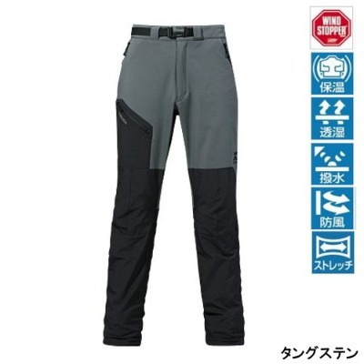 シマノ XEFO・WINDSTOPPER OPTIMAL Pants PA-295N タングステン XL
