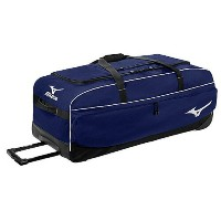 Mizuno Team Team チーム MX Large Wheeled Equipment Bag バッグ navy 紺・ネイビー