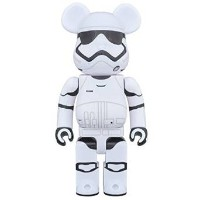 MEDICOM TOY 20th ANNIVERSARY EXHIBITION開催限定 BE@RBRICK ベアブリック FIRST ORDER STORMTROOPER(TM) 400% 新品