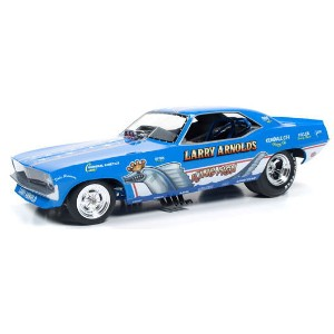 1/18scale auto world American Muscle KINGFISH 1970s Plymouth Cuda Funny Car プリムス クーダ ファニーカー ミニカー アメ車