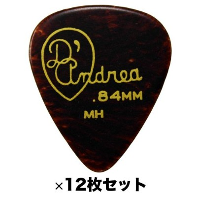 D'Andrea RG351 .84MH 0.84 mm Medium Heavy ギターピック 12枚セット