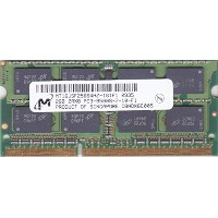Micron 204PIN PC3-8500 DDR3 1066 2GB SODIMM [MT16JSF25664HZ-1G1D1]
