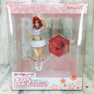 Toy'sworks トイズワークス 1/10スケール ラブライブ! School Idol Project 西木野真姫 LoveLive! First Fan Book Ver.【中古...