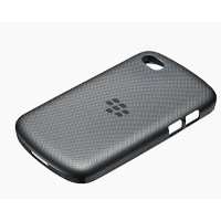 BlackBerry ACC-50724-301 Black Soft Shell Cover for Rim BlackBerry Q10- Retail Packaging - Black ...
