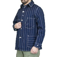 FREEWHEELERS フリーホイーラーズ THE IRONALL JACKET FACTORIES CO. Cincinnati, Ohio INDIGO DOUBLE SQUARE DOT...
