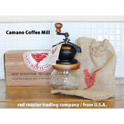 Camano Coffee Mill カマノ コーヒーミル red rooster trading company アメリカ DETAIL
