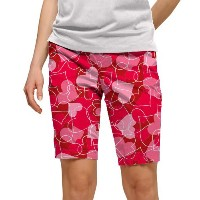 LoudMouth Ladies Sweethearts Bermuda Shorts【ゴルフ レディース>パンツ】